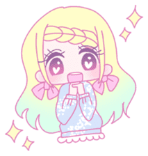Dreamy KAWAII Girls sticker #9294726