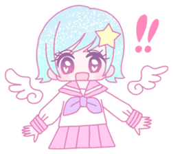 Dreamy KAWAII Girls sticker #9294727