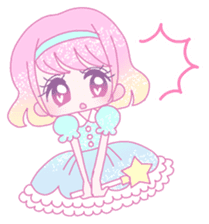 Dreamy KAWAII Girls sticker #9294729