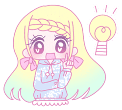 Dreamy KAWAII Girls sticker #9294730