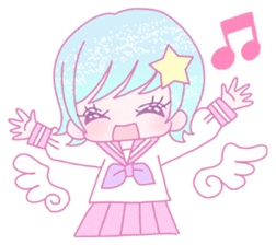 Dreamy KAWAII Girls sticker #9294731