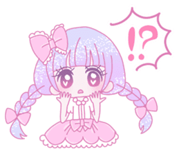 Dreamy KAWAII Girls sticker #9294732