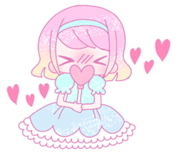 Dreamy KAWAII Girls sticker #9294733