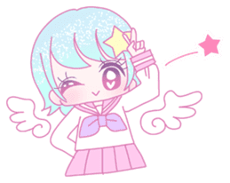 Dreamy KAWAII Girls sticker #9294739