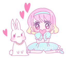 Dreamy KAWAII Girls sticker #9294741
