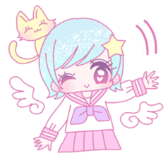 Dreamy KAWAII Girls sticker #9294743