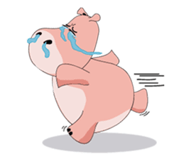 Wala the Hippo sticker #9295746