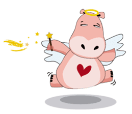 Wala the Hippo sticker #9295747