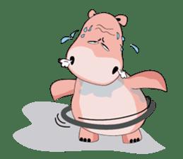 Wala the Hippo sticker #9295748