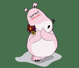 Wala the Hippo sticker #9295761