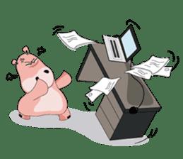 Wala the Hippo sticker #9295780