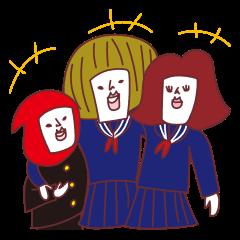 AkaisanJanuary February March sticker