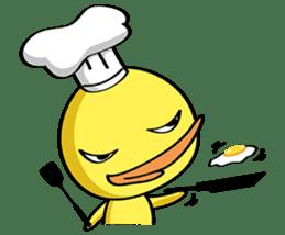 Single Duck sticker #9301658