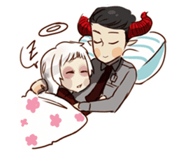 Demon Dad and the Dead Daughter sticker #9304285