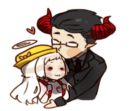 Demon Dad and the Dead Daughter sticker #9304291