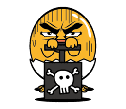 Do not tame my chick(English) sticker #9304586