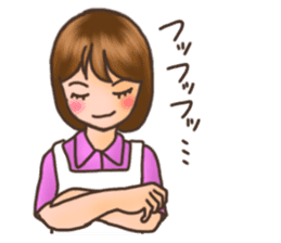 Novice housewife sticker #9309529