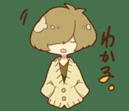 Mash and tempered boys doodling Sticker sticker #9317298