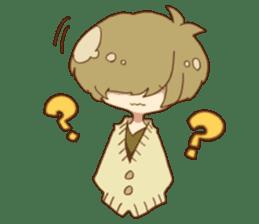 Mash and tempered boys doodling Sticker sticker #9317319