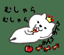 Cute cat princess sticker #9320692