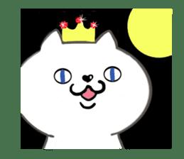 Cute cat princess sticker #9320699