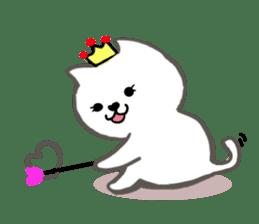 Cute cat princess sticker #9320702
