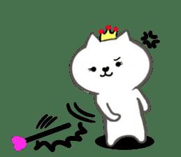Cute cat princess sticker #9320721