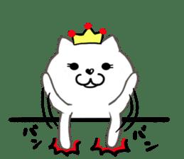 Cute cat princess sticker #9320723