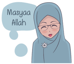 Go Hijab sticker #9322651