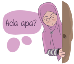 Go Hijab sticker #9322668