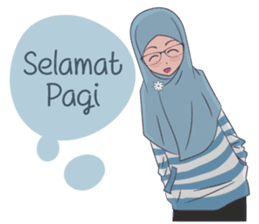 Go Hijab sticker #9322675