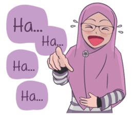 Go Hijab sticker #9322684