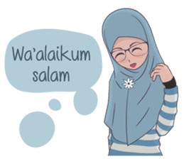 Go Hijab sticker #9322687