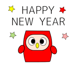 New year and daily sticker #9322730