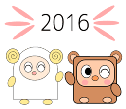 New year and daily sticker #9322746