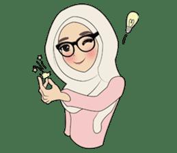 Miss Dua Hijabi cutie girl Eng.Version sticker #9337170