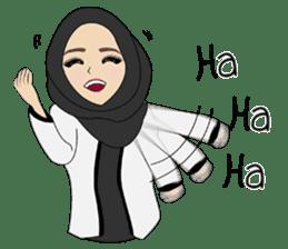 Miss Dua Hijabi cutie girl Eng.Version sticker #9337173