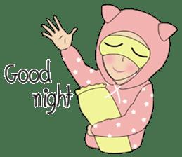 Miss Dua Hijabi cutie girl Eng.Version sticker #9337204
