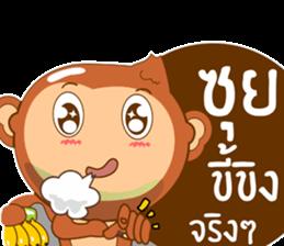 Happy New Year2016  ( Year Monkey) sticker #9337780