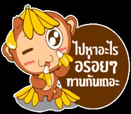 Happy New Year2016  ( Year Monkey) sticker #9337791