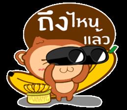 Happy New Year2016  ( Year Monkey) sticker #9337794