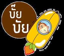 Happy New Year2016  ( Year Monkey) sticker #9337807