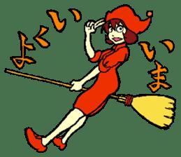 little witch 2 sticker #9352332