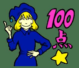 little witch 2 sticker #9352343
