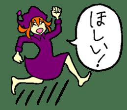 little witch 2 sticker #9352359