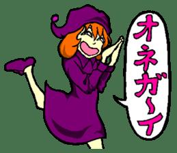little witch 2 sticker #9352360
