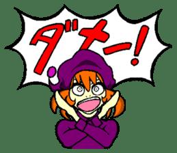 little witch 2 sticker #9352363