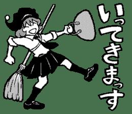 little witch 2 sticker #9352367