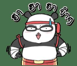 Muay Thai Panda 1 sticker #9353493