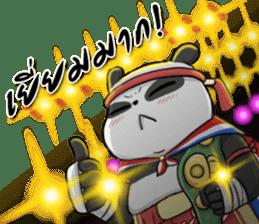 Muay Thai Panda 1 sticker #9353494